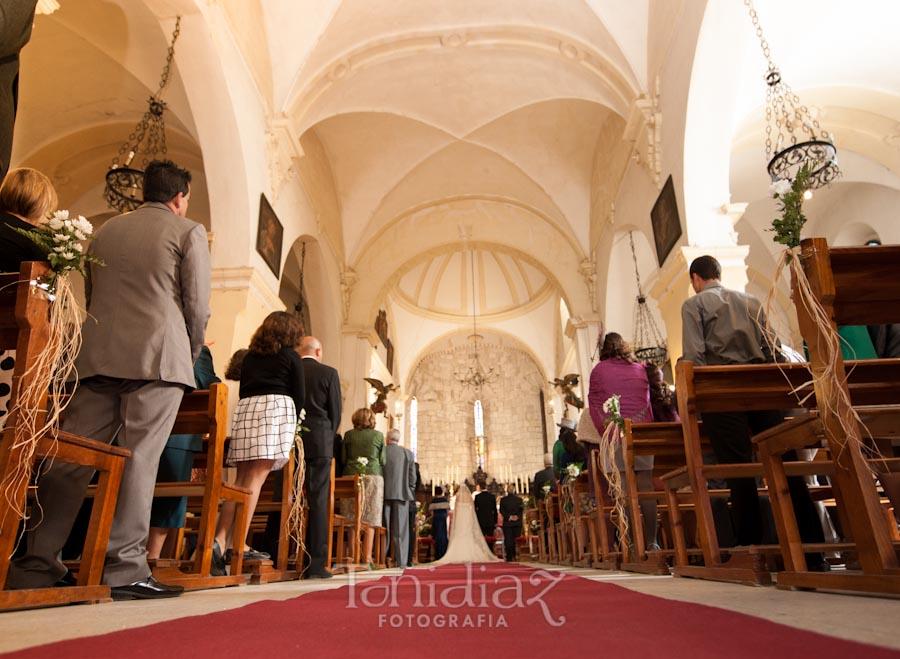 Boda de Paco y Paqui Iglesia la Asunción en Castro del Río Córdoba fotografía 1553