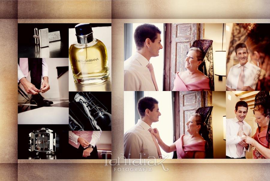 Maquetado Álbum Digital Boda de Silvia y Jose Antonio en Sevilla pliego 03