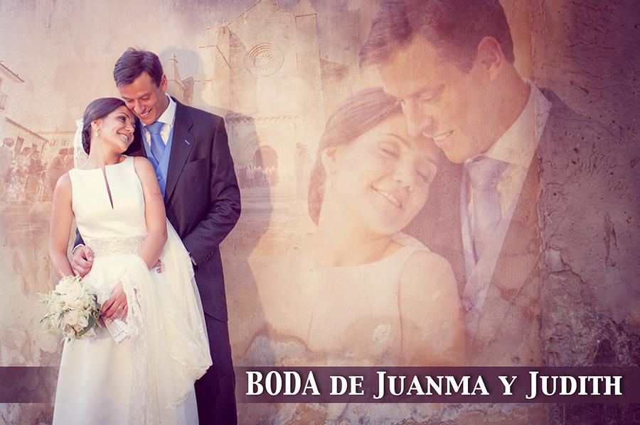Cabecera Boda de Juanma y Judith en Córdoba