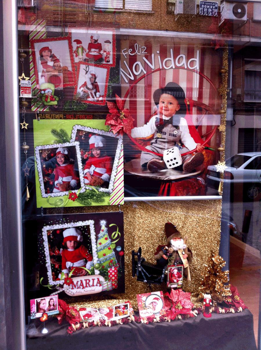 Escaparate de Navidad de Toñi Díaz en Córdoba