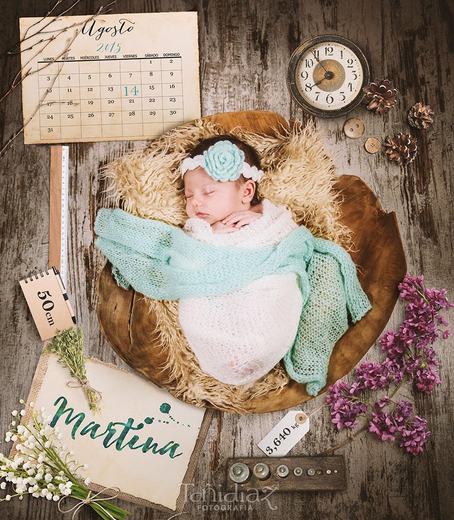 Fotos de recién nacido de Martina 01