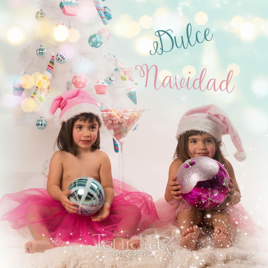 Foto de Navidad de Cecilia y Mercedes 1