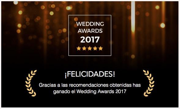 Premio Wedding Awards 2017