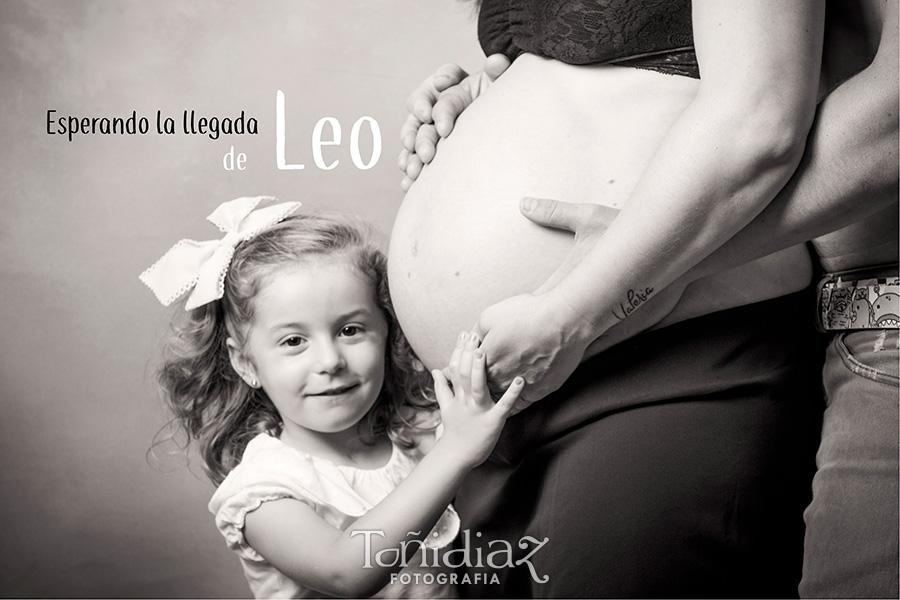 Reportaje de Embarazo con Leo