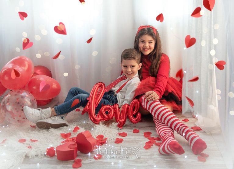 Mini Sesión Fotográfica de San Valentín