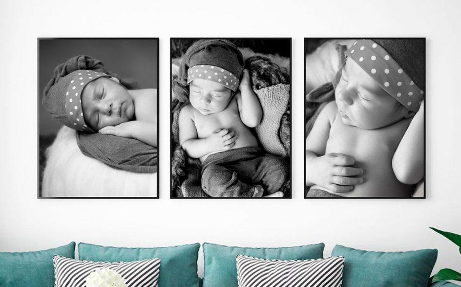 Fotografias decorativas de Newborn